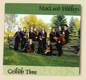 Glengarry Roots Youth Fiddling CD