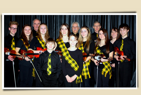fiddlers kids violin group